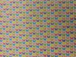 BUTTERFLY MULTI - COLOURFUL ANIMALS - Fabric 100% Cotton - Price Per Metre